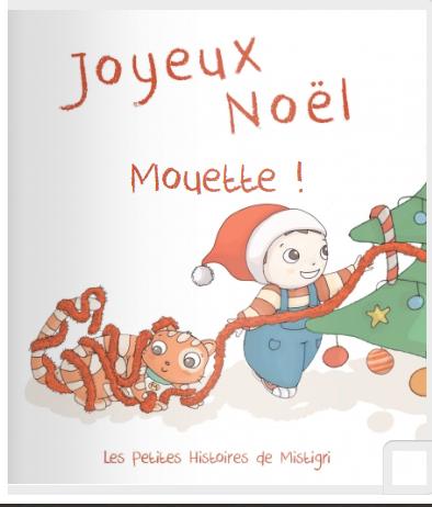 Livre personnalisé mistigir avec Mouette