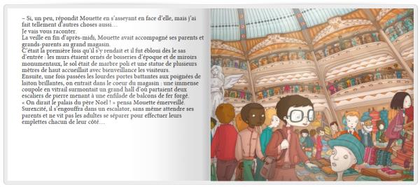 Livre personnalisé avec Mouette collection les contes de la boutique