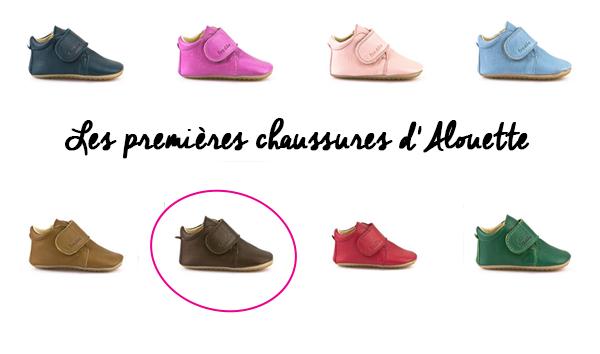 Les premières chaussures d'ALouette